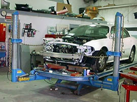 Bodymasters has the latest frame equipment to bring your vehicle back to pre-accident condition
